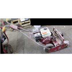 Tru Cut Walk-Behind Commercial Reel Mower Roller Drive DJ168F 5.50 HP (needs repair)
