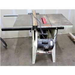 "JET Equipment 10"" Tablesaw with Precision Fence Model JWTS-10CW2-LFR"