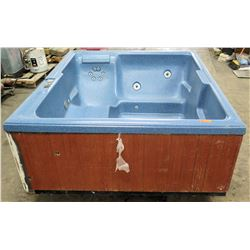 "Balboa Water Group Hot Tub & Spa, No Leaks, Functionality Unknown 70"" x 82"""