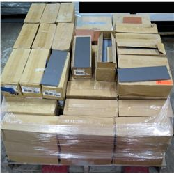 Contents of Pallet: First Choice 4X14 List. Coal Nat D227 Tile & Quarry Tile 0040-661P Tile