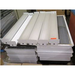Pallet Multiple Fluorescent Light Fixtures