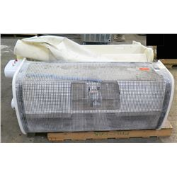 Qty 2 Ceiling-Hung Air Filters A010107A0045 (filter cloth need cleaning)