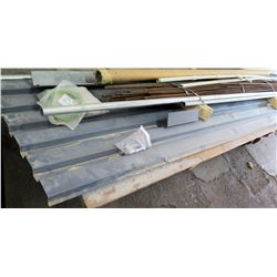 Pallet Misc Metal Materials: PVC & Metal Pipe, Rebar, etc