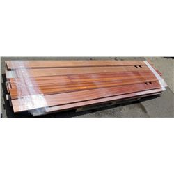 "Pallet of Tongue and Groove Lumber, Solid Wood, 100""L x 5.5"""