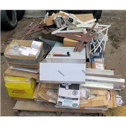 Pallet Misc Grabber Construction Screws, IR LCN Door Arms, Hinges, etc