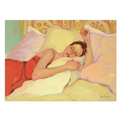 "Linda Kyser Smith, ""Night Song"" Limited Edition Serigraph on Canvas, Numbered and Hand Signed with C"
