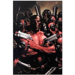 "Marvel Comics ""Deadpool #2"" Numbered Limited Edition Giclee on Canvas by Clayton Crain with COA."