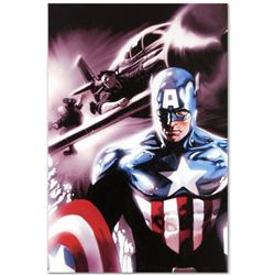 "Marvel Comics ""Captain America #609"" Numbered Limited Edition Giclee on Canvas by Marko Djurdjevic w"