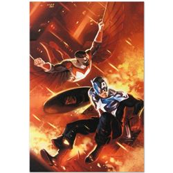 "Marvel Comics ""Captain America #607"" Numbered Limited Edition Giclee on Canvas by Mitchell Breitweis"