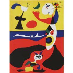 """Joan Miro- Lithograph """"L'ete"""""""