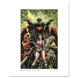 """Justice League"" Numbered Limited Edition Giclee from DC Comics & David Finch with COA"