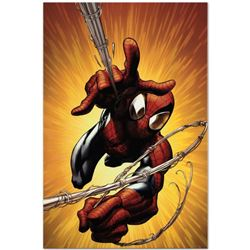 "Marvel Comics ""Ultimate Spider-Man #160"" Numbered Limited Edition Giclee on Canvas by Mark Bagley wi"