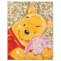 """Very Important Piglet"" Disney Limited Edition Serigraph by David Willardson, Numbered and Hand Sign"