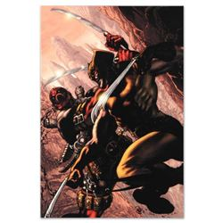 "Marvel Comics ""Wolverine: Origins #21"" Numbered Limited Edition Giclee on Canvas by Simone Bianchi w"