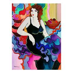 "Patricia Govezensky- Original Watercolor ""Aurore"""