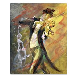 "Lena Sotskova, ""Allegro II"" Original Painting, Oil on Canvas. Hand Signed and with COA."
