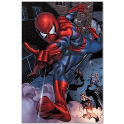 """Marvel Comics """"Heroes For Hire #6"""" Numbered Limited Edition Giclee on Canvas by Brad Walker with COA"""