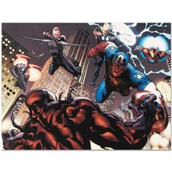 """Marvel Comics """"Ultimate Spider-Man #126"""" Numbered Limited Edition Giclee on Canvas by Stuart Immonen"""