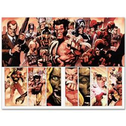 "Marvel Comics ""Secret Invasion #8"" Numbered Limited Edition Giclee on Canvas by Leinil Francis Yu wi"
