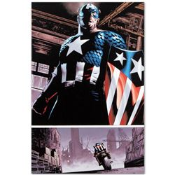 "Marvel Comics ""The Marvels Project #5"" Numbered Limited Edition Giclee on Canvas by Steve Epting wit"