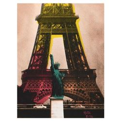 "Ringo Daniel Funes, (Protege of Andy Warhol's Apprentice, Steve Kaufman), ""Eiffel Tower"" One-of-a-Ki"