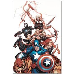 "Marvel Comics ""Ultimate New Ultimates #5"" Numbered Limited Edition Giclee on Canvas by Frank Cho wit"