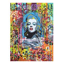 "Nastya Rovenskaya- Mixed Media ""Blonde Bombshell"""