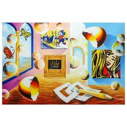 "Alexander Astahov- Original Oil on Canvas ""By The Sea"""