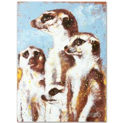 """""""The Lookout"""" Limited Edition Giclee on Canvas by Stephen Fishwick, Numbered and Signed. This piece"""