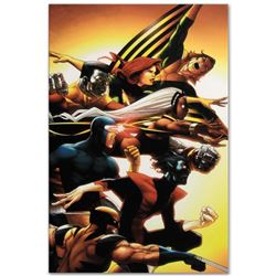 """Marvel Comics """"Uncanny X-Men: First Class #5"""" Numbered Limited Edition Giclee on Canvas by Roger Cru"""