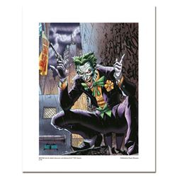 """Joker"" Numbered Limited Edition Giclee from DC Comics & Jim Lee with COA"