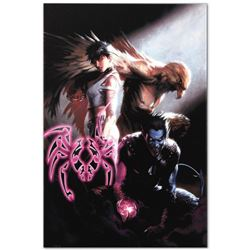 "Marvel Comics ""Ultimate X-Men #95"" Numbered Limited Edition Giclee on Canvas by Gabriele Dell'Otto w"