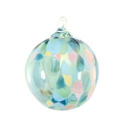 """Glass Eye Studios, """"Ornament (Beachglass)"""" Hand Blown Glass Sculpture (Second)."""