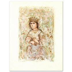 """""""Zorina"""" Limited Edition Lithograph by Edna Hibel (1917-2014), Numbered and Hand Signed with Certifi"""