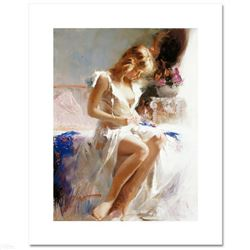 "Pino (1931-2010), ""Early Morning"" Limited Edition on Canvas, Numbered and Hand Signed with Certifica"