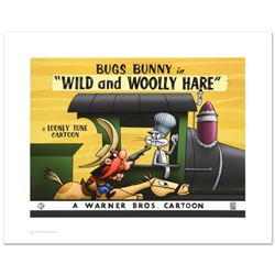 """Wild & Wooly Hare"" Limited Edition Giclee from Warner Bros., Numbered with Hologram Seal and Certif"