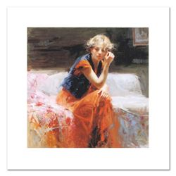 "Pino (1931-2010), ""Silent Contemplation"" Limited Edition on Canvas, Numbered and Hand Signed with Ce"