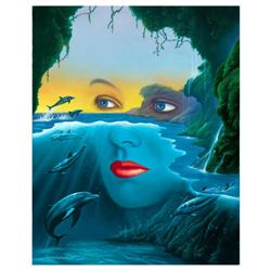 "Jim Warren, ""Friends of Mother Nature"" Hand Signed, Artist Embellished AP Limited Edition Giclee on"