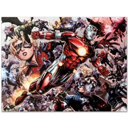 "Marvel Comics ""Avengers: The Children's Crusade #5"" Numbered Limited Edition Giclee on Canvas by Jim"