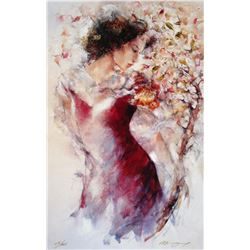 "Gary Benfield ""Flora"" Giclee on Canvas"