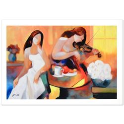 """Tranquil Melody"" Limited Edition Giclee on Canvas by Yunessi Gholam, Numbered Inverso and Hand Sign"