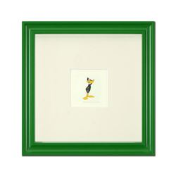 """Daffy Duck (Looking to the Side)"" Framed Limited Edition Etching with Hand-Tinted Color and Numbere"