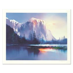 "H. Leung, ""Glacier Lake"" Limited Edition, Numbered 14/100 and Hand Signed with Letter of Authenticit"
