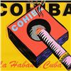"""Image 2 : Steve Kaufman (1960-2010), """"Cohiba"""" One-of-a-Kind Mixed Media on Canvas, Hand Signed Inverso with Ce"""