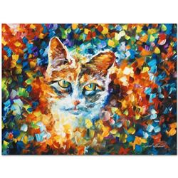 "Leonid Afremov (1955-2019) ""Bright Eyes"" Limited Edition Giclee on Canvas, Numbered and Signed. This"