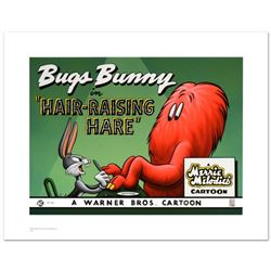 Hair Raising Hare  Limited Edition Giclee from Warner Bros., Numbered with Hologram Seal and Certif