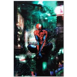 Marvel Comics  Timestorm  Numbered Limited Edition Giclee on Canvas by Christopher Shy with COA.