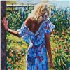 """Image 2 : Howard Behrens (1933-2014), """"My Beloved, By The Lake"""" Limited Edition on Canvas, Numbered and Signed"""