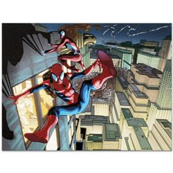 "Marvel Comics ""Ultimate Mystery #1"" Numbered Limited Edition Giclee on Canvas by Rafa Sandoval with"