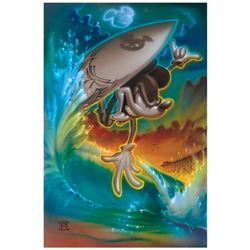 "Noah, ""Off the Lip"" Limited Edition Giclee on Canvas, Licensed by Disney Fine Art, Numbered and Hand"